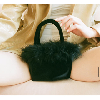 EDIT.FOR LULU - petite feather vanity bag