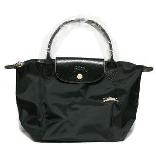 ロンシャン(LONGCHAMP)のロンシャン クラブ ハンドバッグS ブラック 新品(ハンドバッグ)