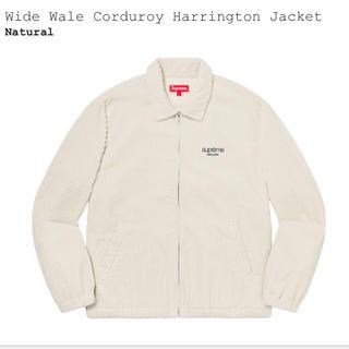 Supreme - wide wale corduroy harringtong jacket L