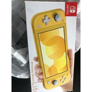 ニンテンドースイッチ(Nintendo Switch)のニンテンドースイッチ ライト 新品未使用(携帯用ゲーム機本体)