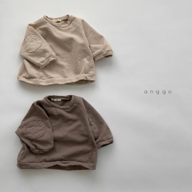anggo ココア スエット キッズ/ベビー/マタニティのベビー服(~85cm)(トレーナー)の商品写真