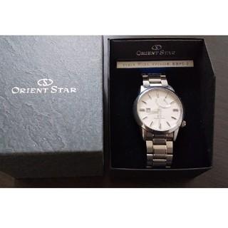 ORIENT - オリエントスター 自動巻き 機械式 腕時計 日本製 シースルーバック 半額