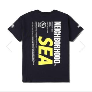 ネイバーフッド(NEIGHBORHOOD)のNEIGHBORHOOD WIND AND SEA TEE 黒S(Tシャツ/カットソー(半袖/袖なし))