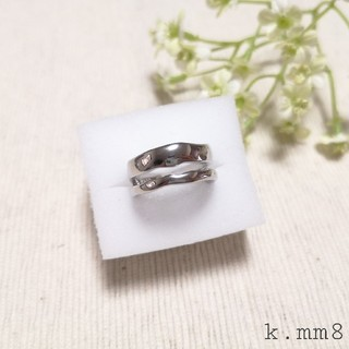 シルバーリング メタルリング 指輪 シルバー925 silver925(リング(指輪))