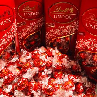 Lindt - 🍫リンツ リンドール🍫【赤箱のミルク】72個