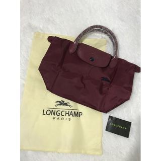 ロンシャン(LONGCHAMP)の新色 Longchamp ロンシャン トートバッグ Sサイズ ワインレッド(ハンドバッグ)