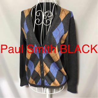 Paul Smith - ★Paul Smith BLACK/ポールスミスブラック★長袖カーディガンM