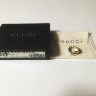 Gucci - GUCCI 名作 スパイラルスネークリング シルバー 16号