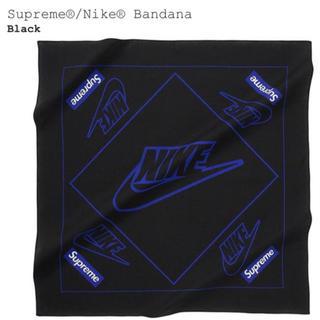 シュプリーム(Supreme)の19FW Supreme Nike Bandana Black(バンダナ/スカーフ)
