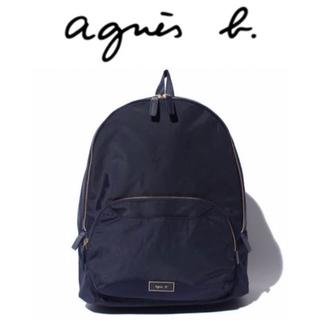 agnes b. - 【新品、タグ付き】アニエスベー agnes b. リュック ネイビー