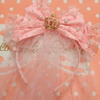 Angelic Pretty - Angelic Pretty Princessベールチュールカチューシャ