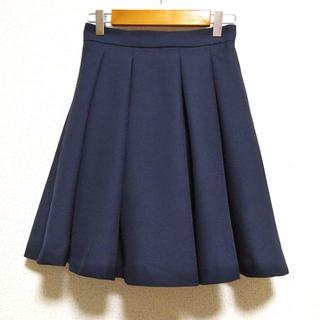 INGNI - 【未使用】INGNI(イング)ネイビー フレアスカート スカパン 紺