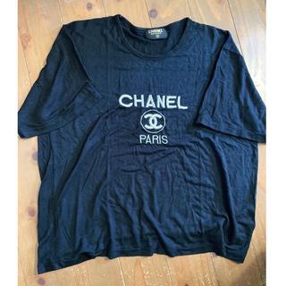 CHANEL - 90'S CHANEL 刺繍ロゴTシャツ