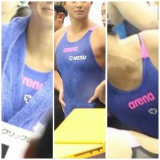 arena - 競泳水着 キャップ セット