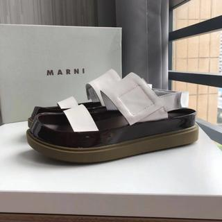 Marni - MARNI マルニ プラットフォーム サンダル