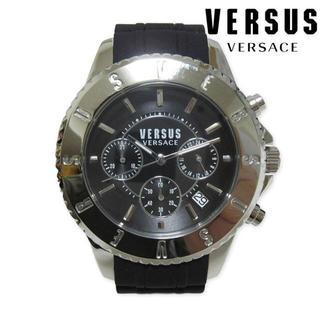 ヴェルサーチ(VERSACE)の新品箱入り VERSUS VERSACE ヴェルサーチ クロノグラフ 腕時計(腕時計(アナログ))