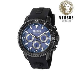 ヴェルサーチ(VERSACE)の新品箱入り VERSUS VERSACE ヴェルサーチ メンズ 時計 45mm(腕時計(アナログ))