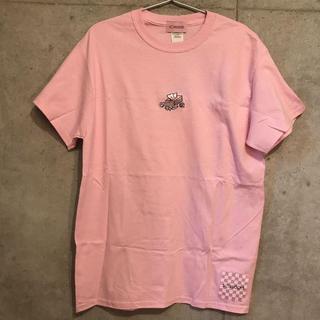SOXSOCKS マストアイテムTシャツ ピンク(Tシャツ/カットソー(半袖/袖なし))