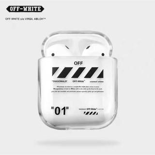 AirPodsケース Off-White ☆即購入OK☆