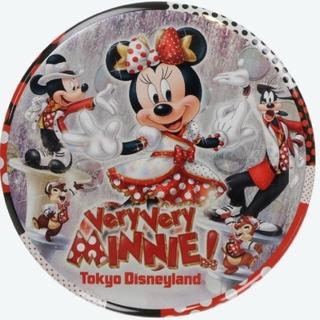 ミニーマウス(ミニーマウス)のベリーベリーミニー ベリミニ 新品 缶バッジ ディズニーランド 未開封(バッジ/ピンバッジ)
