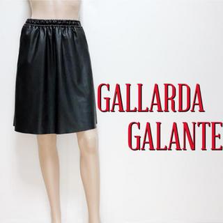 GALLARDA GALANTE - おしゃれ着♪ガリャルダガランテ フェイクレザースカート♡アニエスベー ザラ