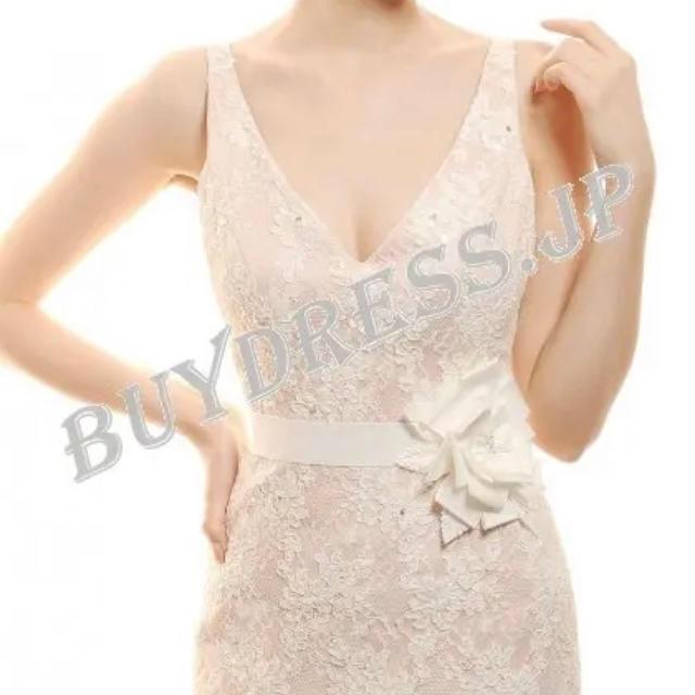 新品未使用💕 ウェディングドレス・二次会用ドレス レディースのフォーマル/ドレス(ウェディングドレス)の商品写真
