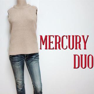 MERCURYDUO - きれいめ♪マーキュリーデュオ カジュアルノースリーブニット♡アナイ ダズリン