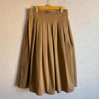 カトー(KATO`)の美品 グランマママドーター チノ タック プリーツ スカート(ロングスカート)