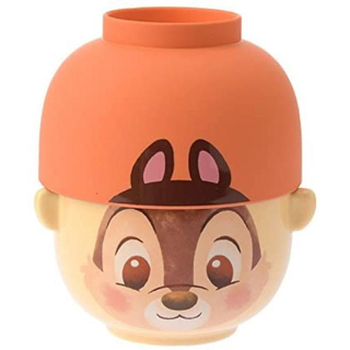 Disney - ディズニー 汁碗茶碗セット チップ