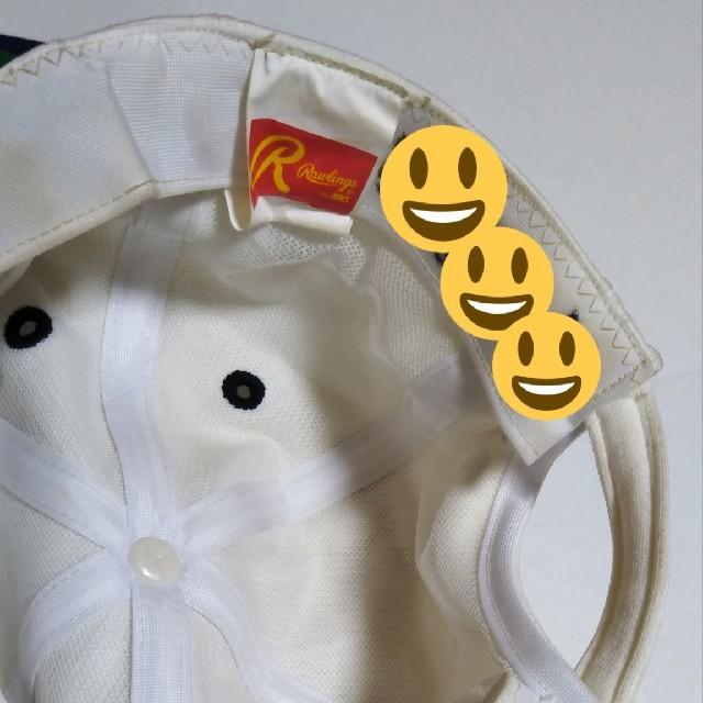 横浜DeNAベイスターズ(ヨコハマディーエヌエーベイスターズ)の横浜大洋ホエールズ 10周年記念キャップ スポーツ/アウトドアの野球(応援グッズ)の商品写真