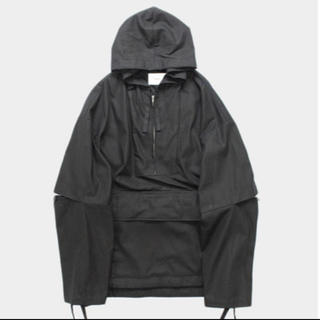 SUNSEA - stein OVERSIZED DIVIDE SLEEVE ANORAK
