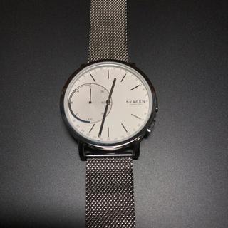 スカーゲン(SKAGEN)の【美品】SKAGEN スマートウォッチ(腕時計(アナログ))