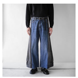 Levi's - Noill REMAKE UPSIDE DOWN DENIM PANTS
