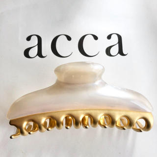 acca - acca Lサイズ 大クリップ 約9.5cm ホワイト