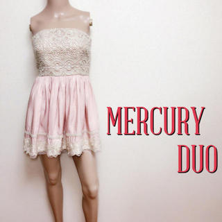 MERCURYDUO - 贅沢刺繍♪マーキュリーデュオ お呼ばれフレアワンピース♡スナイデル ラグナムーン