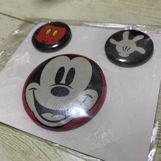 ミッキー  缶バッジ セット ディズニー(キャラクターグッズ)