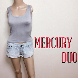 MERCURYDUO - 極美ライン♪マーキュリーデュオ ストレッチノースリーブ♡ザラ エゴイスト