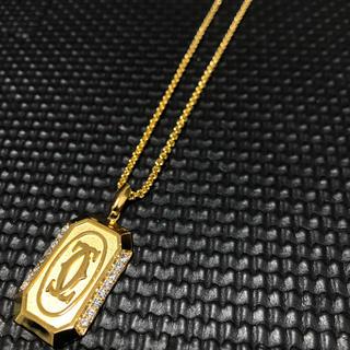 カルティエ(Cartier)の1点限定‼︎Cartier カルティエ 18kgp ゴールドネックレス (ネックレス)