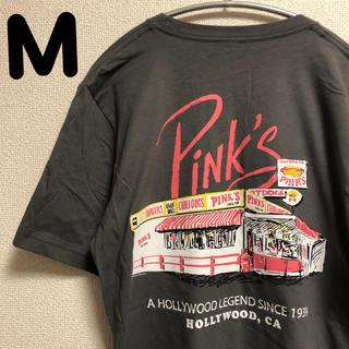 Pink's Hot Dog Tシャツ 半袖M(Tシャツ/カットソー(半袖/袖なし))