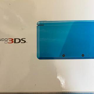 ニンテンドー3DS - Nintendo 3DS ライトブルー ケース付き