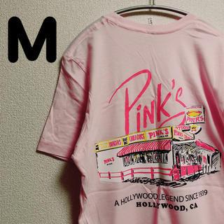 Pink's Hot dog Tシャツ M(Tシャツ/カットソー(半袖/袖なし))