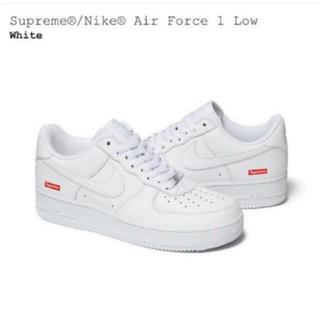 Supreme - Supreme/Nike Air Force 1 Low White US9.5