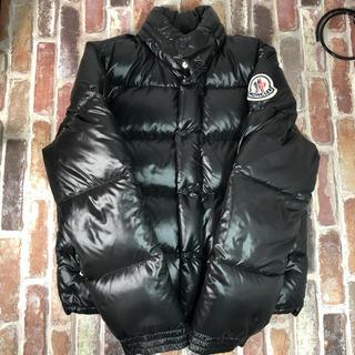 MONCLER - モンクレール エベレスト ダウンジャケット ダウン ブラック 2 デカロゴ