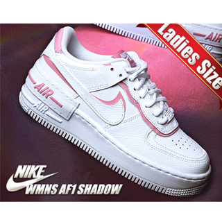 NIKE - (新品)NIKE WMNS AIR FORCE 1 SHADOW PINK