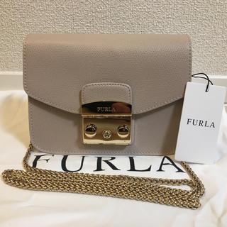 Furla - 新品 未使用品 FURLA フルラ メトロポリス ショルダーバッグ チェーン