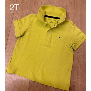 TOMMY HILFIGER - トミーフィルフィガー ポロシャツ 2T
