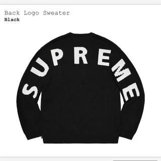 シュプリーム(Supreme)のSupreme Back Logo Sweater(ニット/セーター)