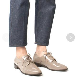 ランダ(RANDA)のRANDA スタッズヒールオックスフォードシューズ(ローファー/革靴)