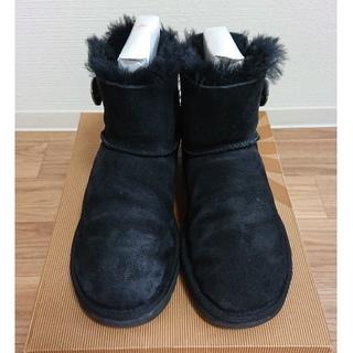 UGG - UGG ブーツ 黒 スワロフスキー