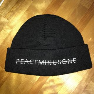 ピースマイナスワン(PEACEMINUSONE)のpeaceminusone ビーニー ニット帽(ニット帽/ビーニー)